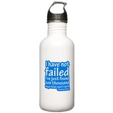I Have Not Failed Water Bottle