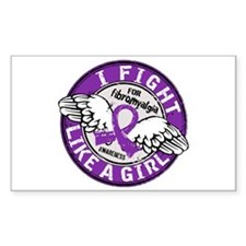 Fight Like A Girl Fibromyalgia Decal