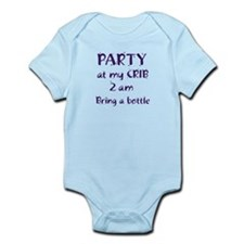 Party at my Crib Onesie