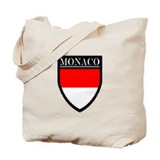 Monaco Flag Patch Tote Bag