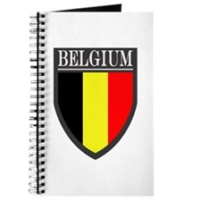 Belgium Flag Patch Journal