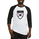 South Korea Flag Patch Baseball Jersey