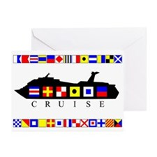 Cruise Signal Flags-b Greeting Cards (Pk of 20)