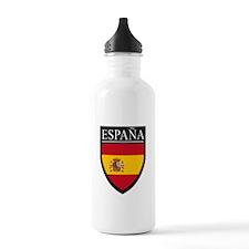 Spain (Espana) Flag Patch Water Bottle