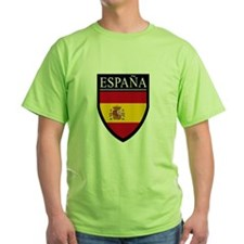 Spain (Espana) Flag Patch T-Shirt
