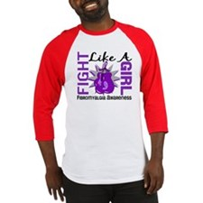 Fight Like A Girl Fibromyalgia Baseball Jersey