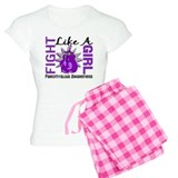 Fight Like A Girl Fibromyalgia pajamas