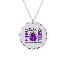 Fight Like A Girl Fibromyalgia Necklace