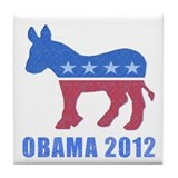 Obama 2012 Tile Coaster