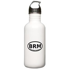 Blue Ridge Mountains Oval Water Bottle