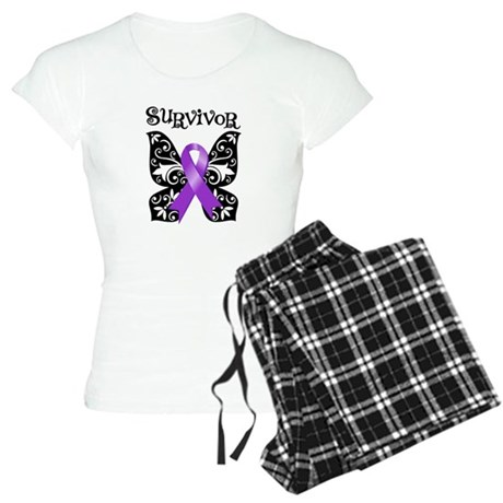 Butterfly Lupus Survivor Women's Light Pajamas