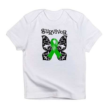 Butterfly Lymphoma Survivor Infant T-Shirt