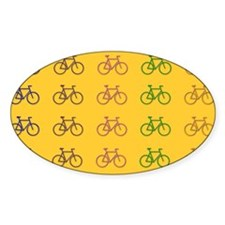 Bicycles Oval Decal
