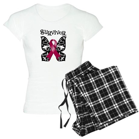 Butterfly Multiple Myeloma Women's Light Pajamas