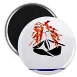 "Yoga Peace 2.25"" Magnet (10 pack)"