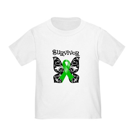 Butterfly Non-Hodgkins Toddler T-Shirt