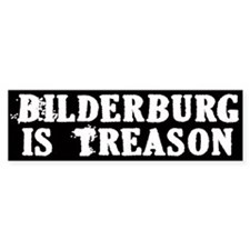 Bilderburg = Treason Car Sticker