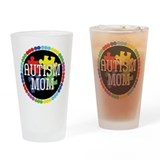 Autism Mom Pint Glass