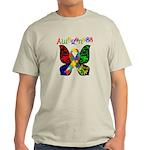 Butterfly Autism Awareness Light T-Shirt