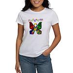 Butterfly Autism Awareness Women's T-Shirt