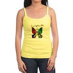 Butterfly Autism Awareness Jr. Spaghetti Tank