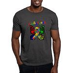 Butterfly Autism Awareness Dark T-Shirt