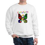 Butterfly Autism Awareness Sweatshirt