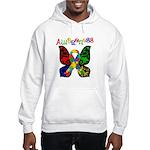 Butterfly Autism Awareness Hooded Sweatshirt
