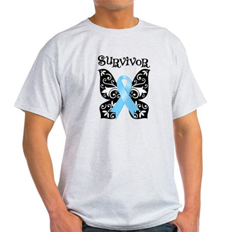 Butterfly Prostate Cancer Light T-Shirt