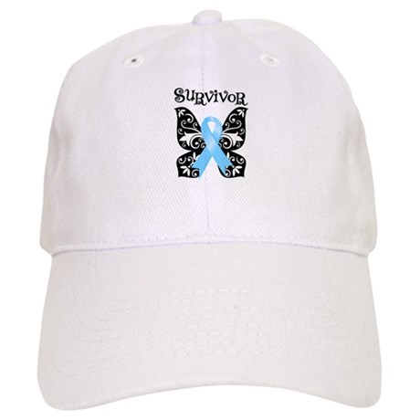 Butterfly Prostate Cancer Cap