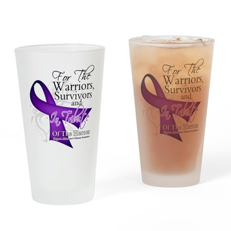 Alzheimer's Disease Pint Glass
