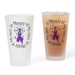 In Memory Alzheimer's Disease Pint Glass