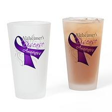 Alzheimer's Disease Pint Glass