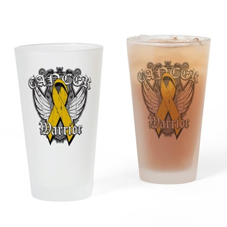 Appendix Cancer Warrior Pint Glass