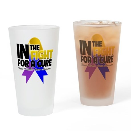 In The Fight - Bladder Cancer Pint Glass