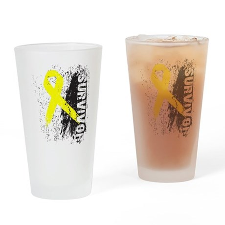 Survivor Bladder Cancer Pint Glass