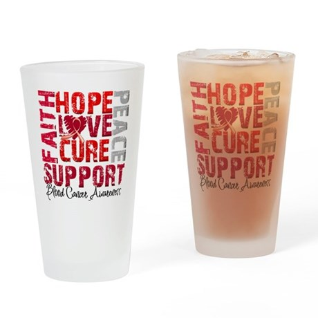 Hope Blood Cancer Pint Glass