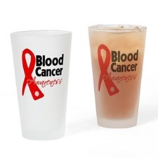 Blood Cancer Ribbon Pint Glass