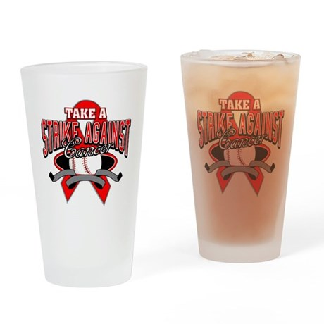 Take a Strike Blood Cancer Pint Glass