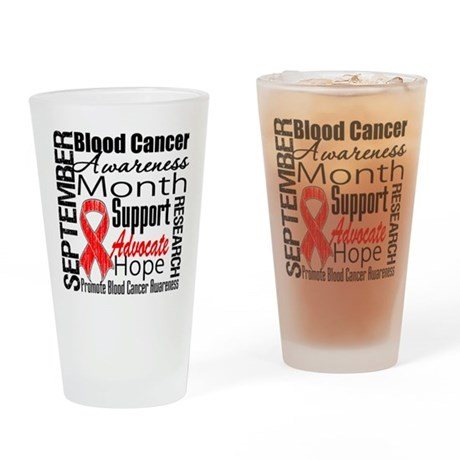 Blood Cancer Month v2 Pint Glass