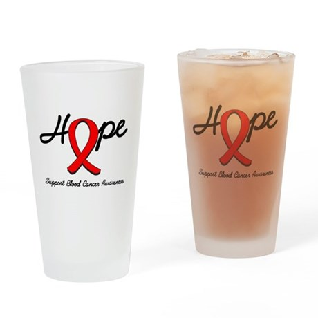 Blood Cancer Hope Pint Glass