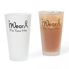 Personalize Brain Cancer Pint Glass