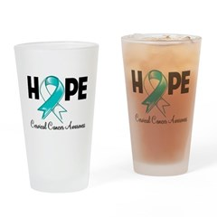 Hope Cervical Cancer Pint Glass