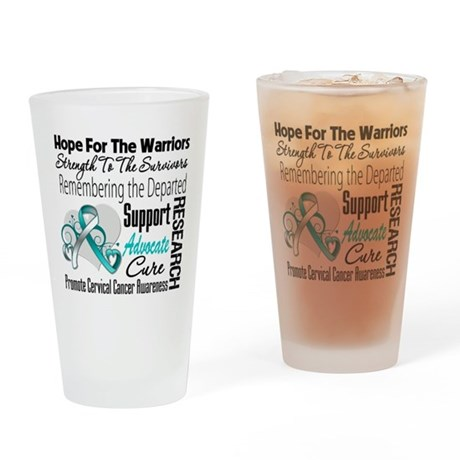 Tribute Cervical Cancer Pint Glass