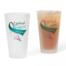 Cervical Cancer Survivor Pint Glass