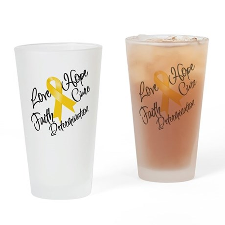 Hope Childhood Cancer Pint Glass