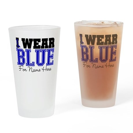 Custom Colon Cancer Pint Glass