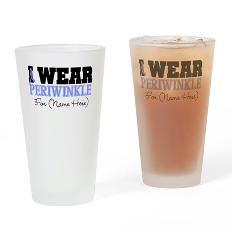 Custom Esophageal Cancer Pint Glass