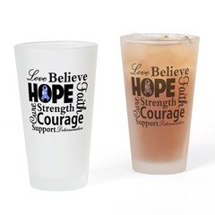 Esophageal Cancer Hope Pint Glass