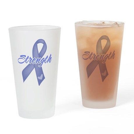 Strength Esophageal Cancer Pint Glass